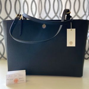 Authentic Tory Burch Emerson Buckle Tote